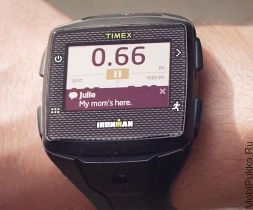 Автономные спортивные 3G GPS часы Timex Ironman One GPS+