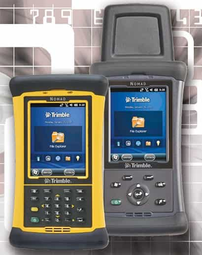 Trimble Nomad 1050 с разными клавиатурами
